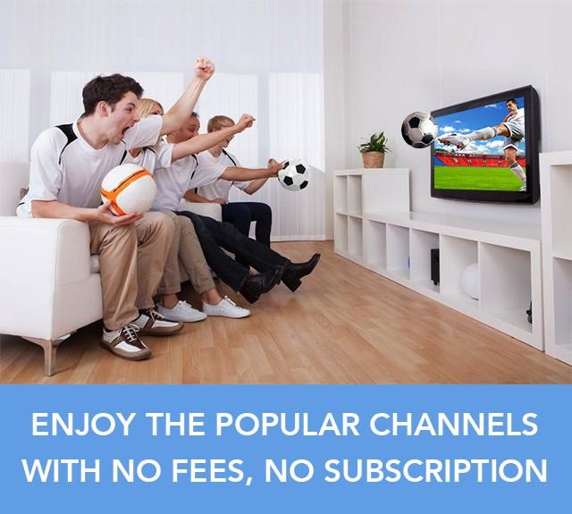 Enjoy Free TV with AT-125B
